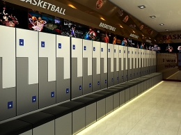 Sports Center Locker