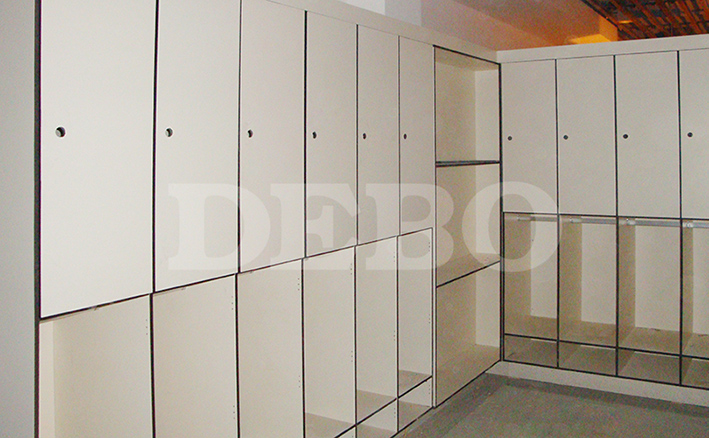 compact laminate lockers